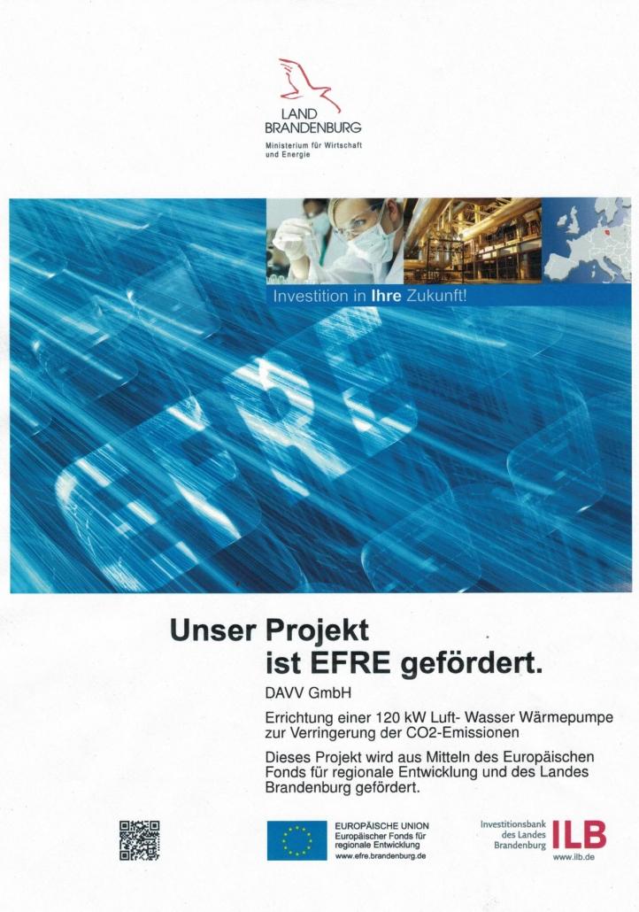 DAVV-Projekt mit ILB und EU